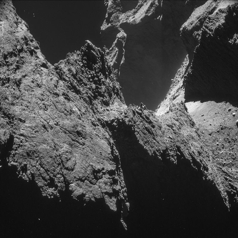 photo from a comet